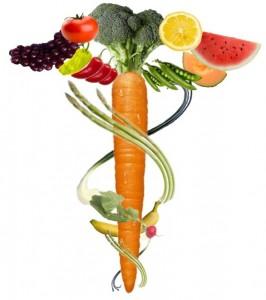 Απεικόνιση σωστής διατροφής (Φρούτα και λαχανικά)